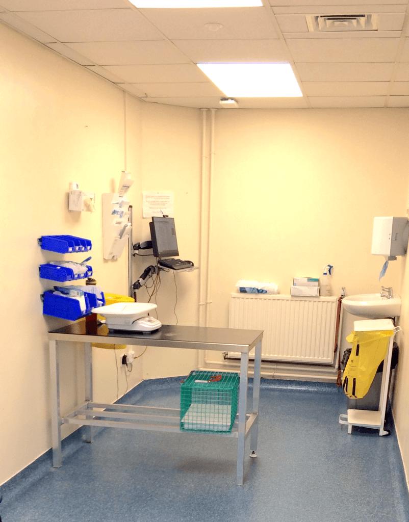 Bolton Vet Consultation Room