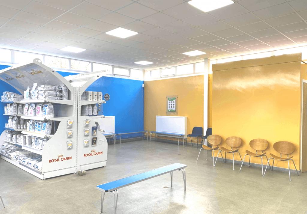 Failsworth Vets Waiting room